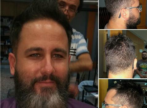 Peluquería masculina y barbería