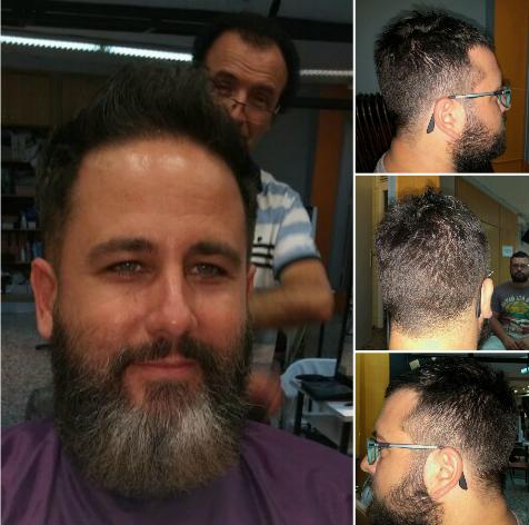 Curso de peluquería masculina y barbería